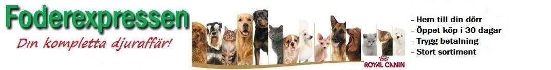 Din kompletta djuraffär hundfoder & kattmat på nätet
