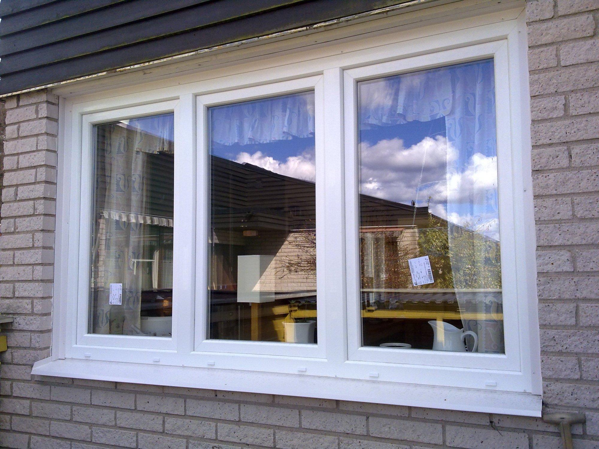 Fönster i Umeå