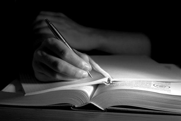skriva akademisk text