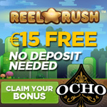 €15 free bonus at Jeuga Ocho!