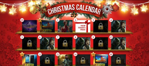 Free spins in iGame's christmas calendar!
