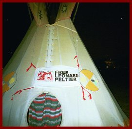 Ceremonial Tipi on the Ellipse