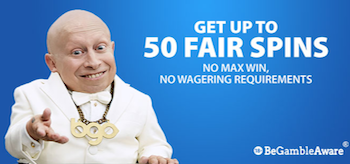 50 Fair Spins Bgo Casino
