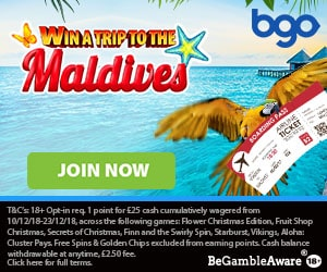 Win a luxurious trip for two at Bgo   www freespinsonlinecasino co uk