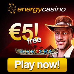 Free bonus at Energy Casino!