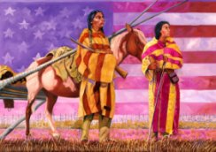 """Home of the Brave"" by Leonard Peltier"