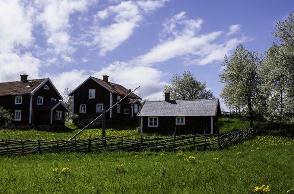 Fint hus på landet