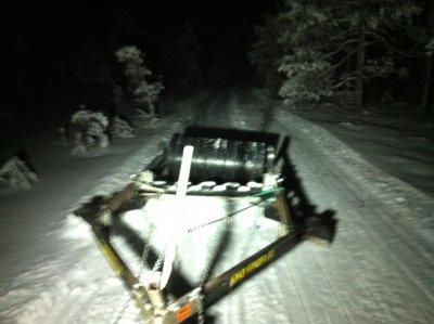 Snow mover