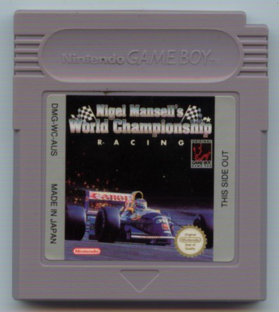 Nigel Mansells World Championship (L) - Gameboy (käytetty)