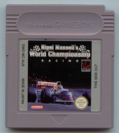 Nigel Mansells World Championship (L) - Gameboy (käytetty)