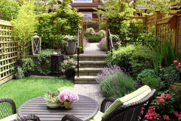 Bildresultat för vackra trädgård