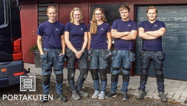 Vi är idag 6 anställda på Portakuten men vi växer hela tiden!