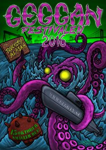 Geggan 2016 Festival Poster