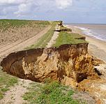 Benacre Cliff. Photo © Geo-East