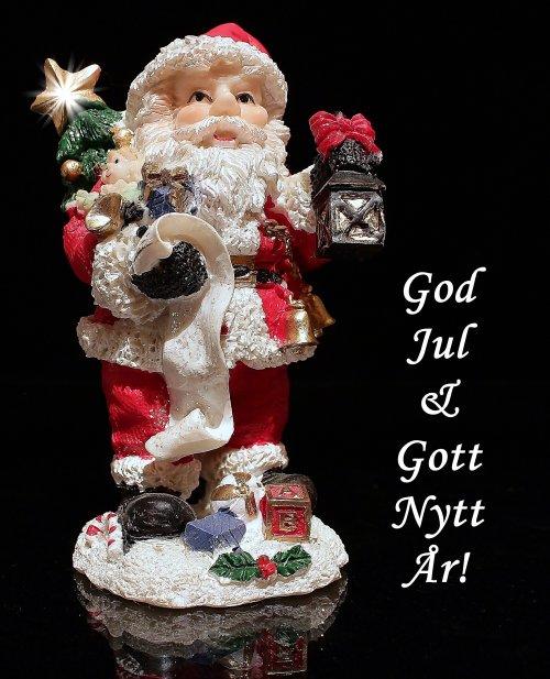 Glitterboden önskar God jul & Gott nytt år !