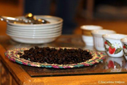 Rostade kaffebönor