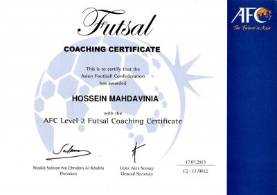 how to become a futsal coach