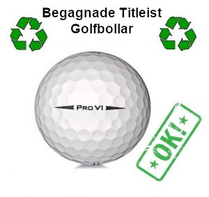 Begagnad Titleist golfboll