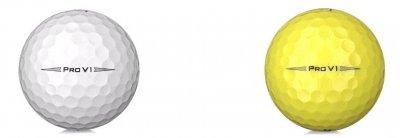Pro V1 2020 vit och gul