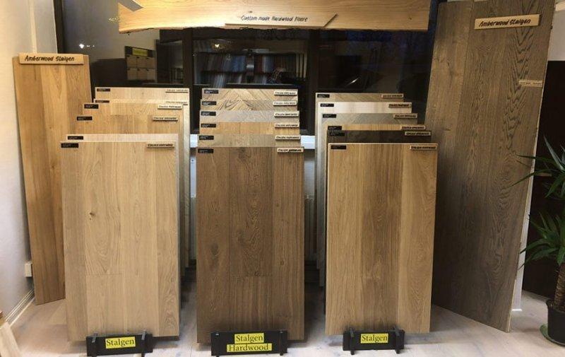 Vi har fler golv att välja på och erbjuder även golvslipning i Stockholm.