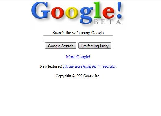 Google 1999