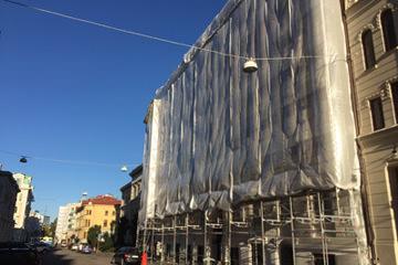 fasadrenovering storgatan