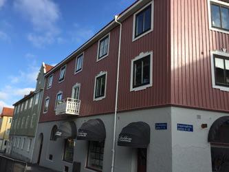 Redberg fasadmålning