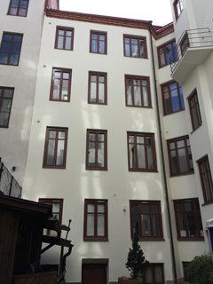 Fasadrenovering vasastan