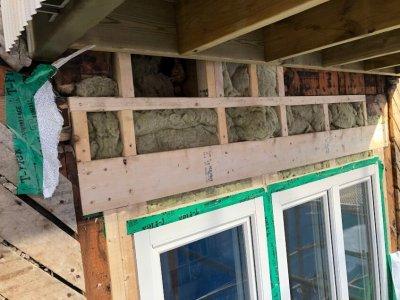 Ny balkong renovering