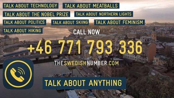 Ring till Sverige