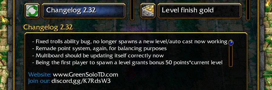 Changelog for version 2.32