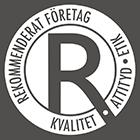 R-licens för håltagning i Linköping.