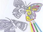 måla vuxna diy tips rita färglägga grafik målarbok