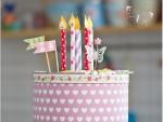 Papperspyssel tårta tips ide diy kalas barn pyssel