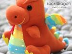 sock-doll-docka-strumpa-strumpor-diy-pyssel-sömnad-sy-tyg-återbruk-leksak-mjukisdjur-mjukdjur-djur-drake
