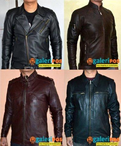 Jaket kulit yang dijual di GaleriPos