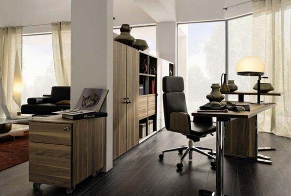 Stilrent o snyggt arbetsrum