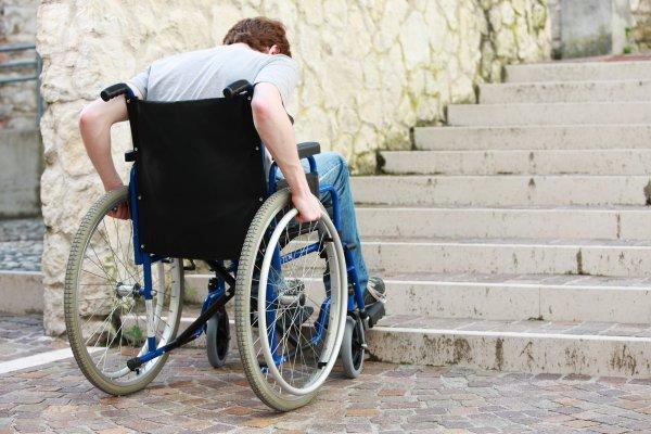 rullstol vs trappa