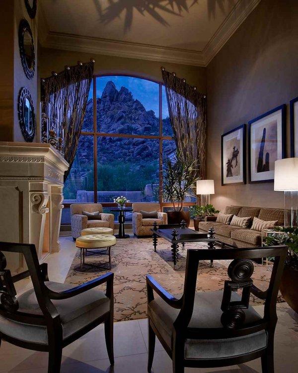 Vardagsrum med utsikt