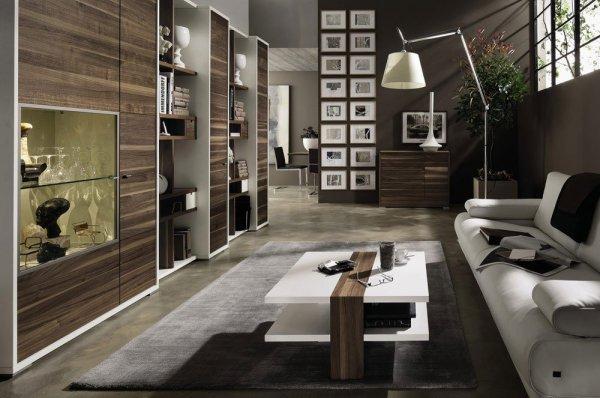 modernt vardagsrum
