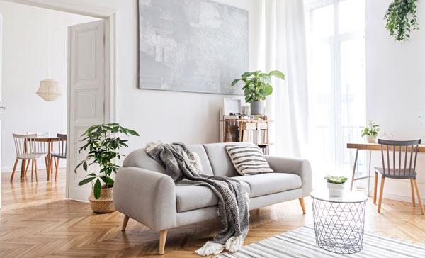 nystädad lägenhet i Göteborg