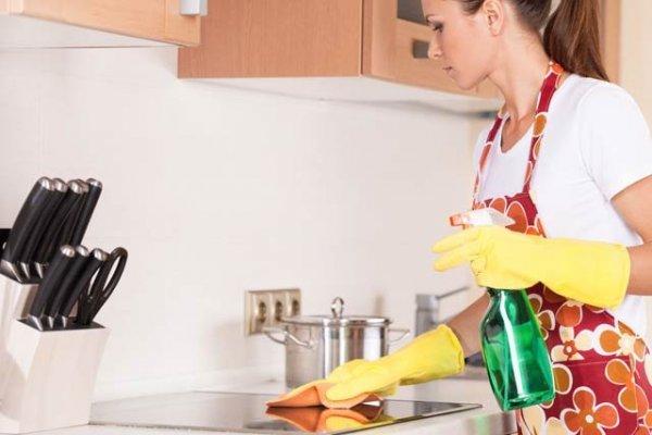 städa kök