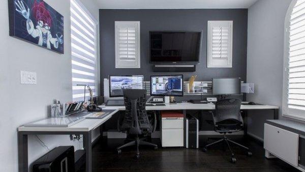 arbetsrum och spel