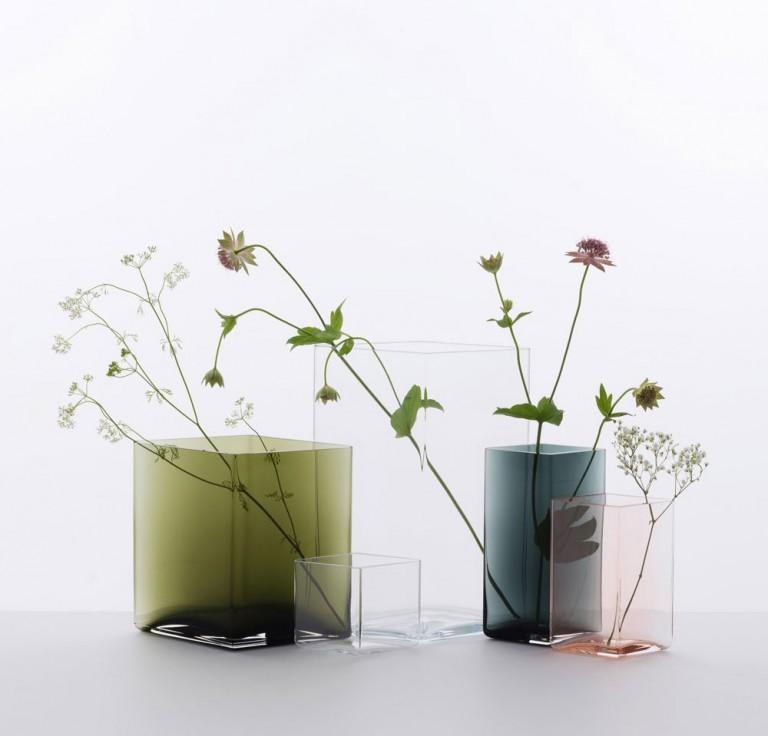 Ruutu – ny kollektion vaser från Iittala