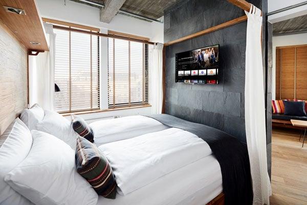 TV på hotellet