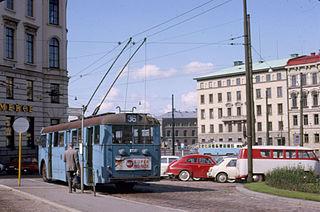 trådbuss i Göteborg