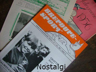 Gamla tidskrifter som är läsvärda och här när Åsa Gustafsson Hova vann Nationalen två år i rad och här 1989 Grupp 3 mästare