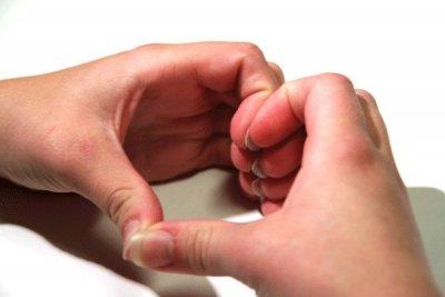 Hjärta med händer