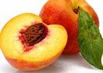 ansiktsmask med persika
