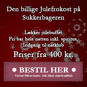Hyggelig Julefrokost - Julefrokost i København